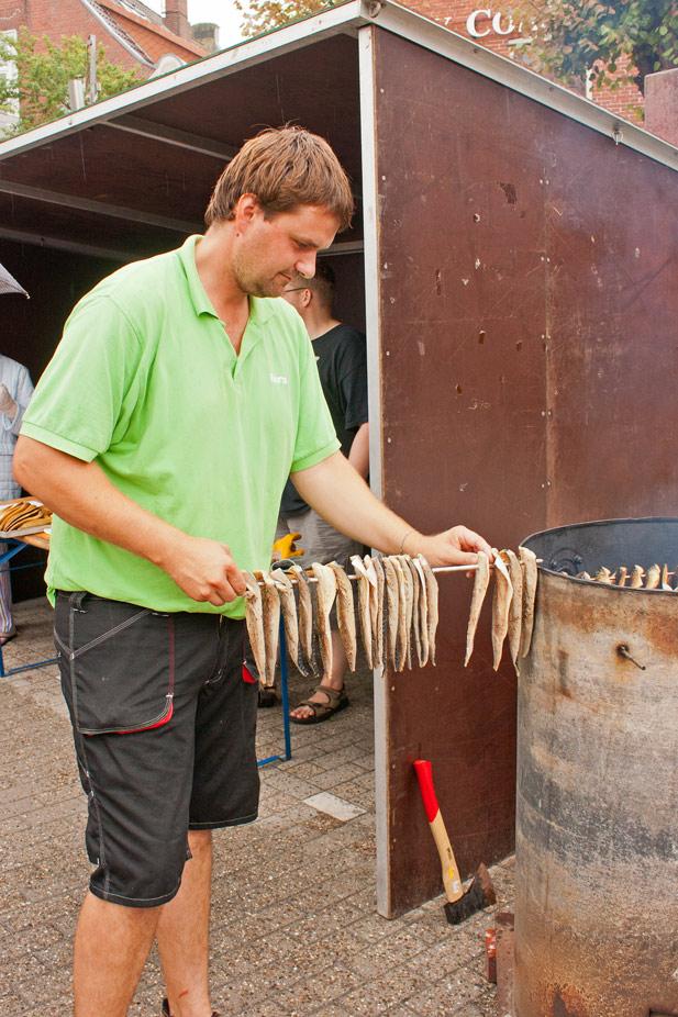 Makrelenfilets zum ersten