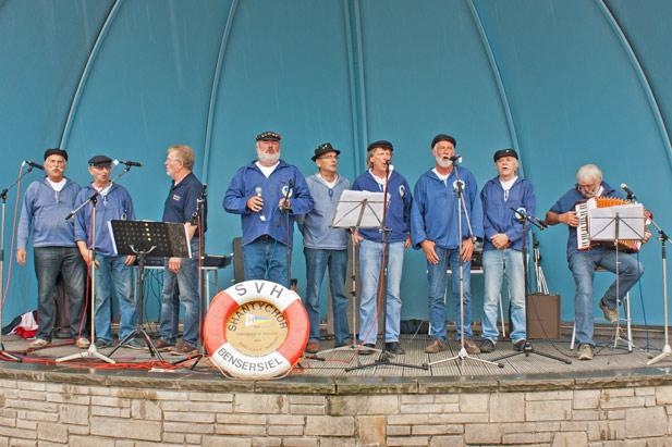 Der Bensersieler Shanty-Chor